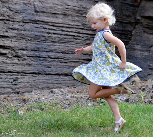 Mingo and Grace: Charlie Dress {sewn by Frances Suzanne}