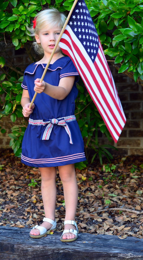 Oliver and S: Croquet Dress {sewn by Frances Suzanne}