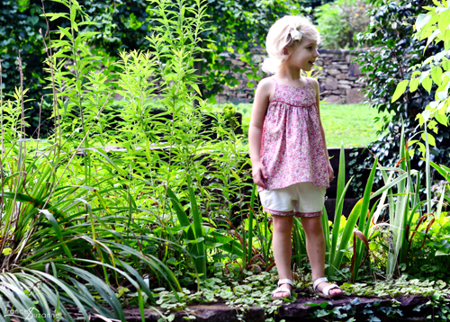 Oliver and S, Swingset Tunic and Puppet Show Shorts {sewn by Frances Suzanne}