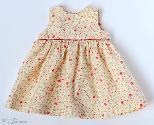 Made by Rae, Geranium Dress {sewn by Frances Suzanne}