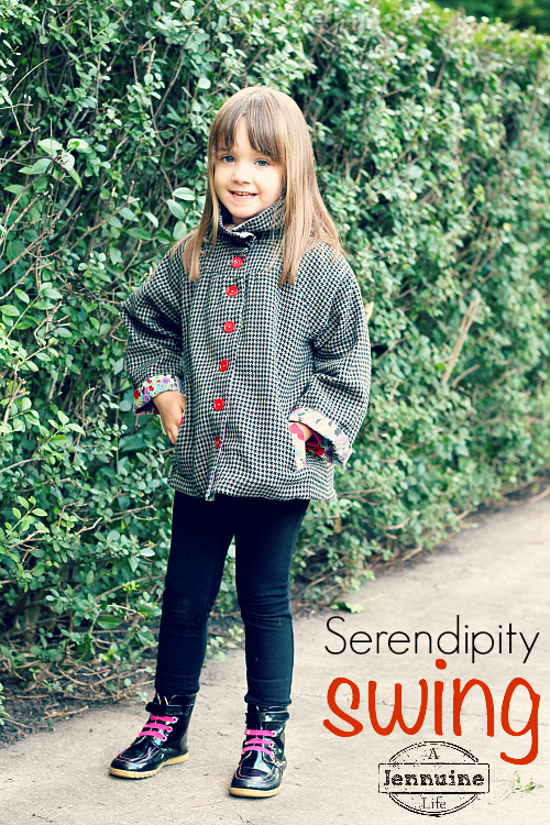 Sewlosophy, Serendipity Swing Coat {sewn by: A Jennuine Life}