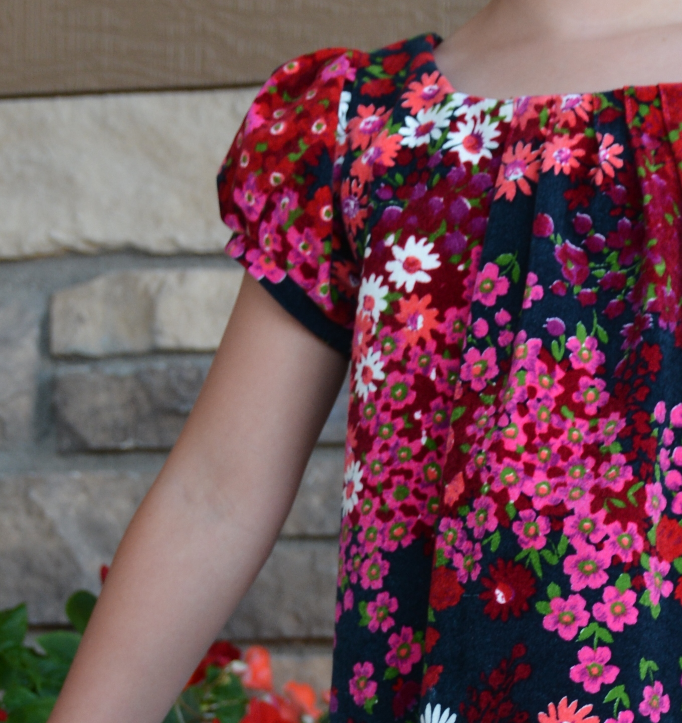 Sew Like My Mom, Busy Lizzy Dress {sewn by The Powell Clan}