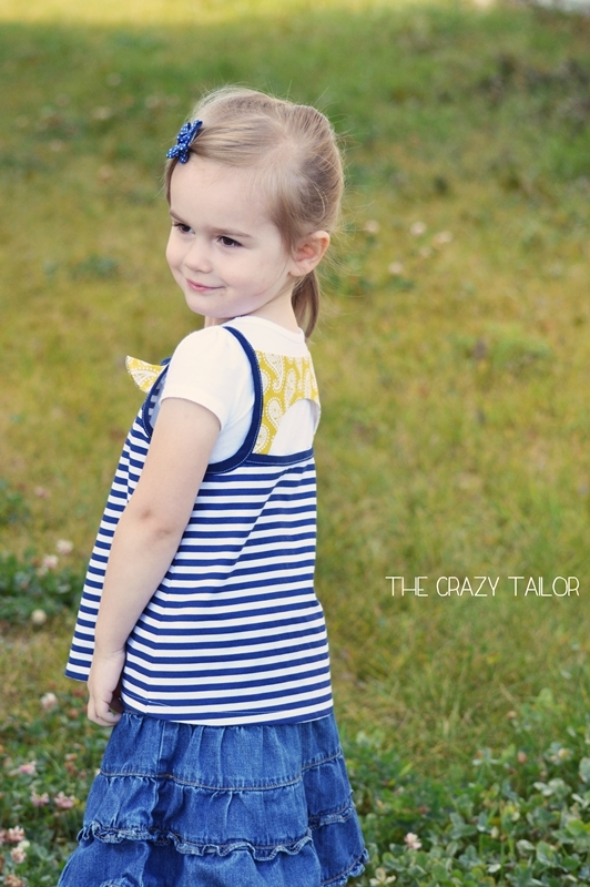 LouBeeClothing, Shandiin Tank & Tunic {sewn by: The Crazy Tailor}