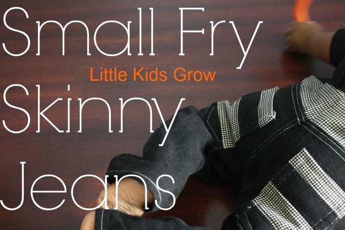 Titchy Threads, Small Fry Skinny Jeans {sewn by: Little Kids Grow}