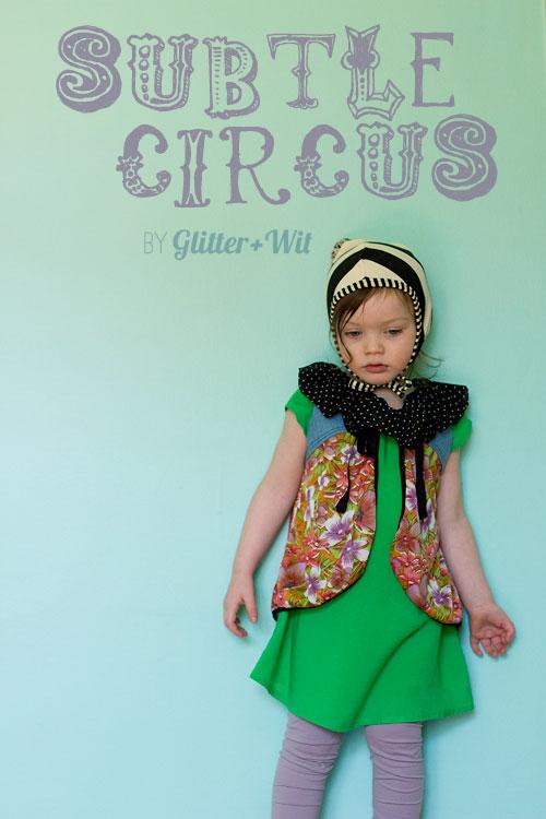 Brownie-Goose, Hattie {sewn by: Glitter + Wit}