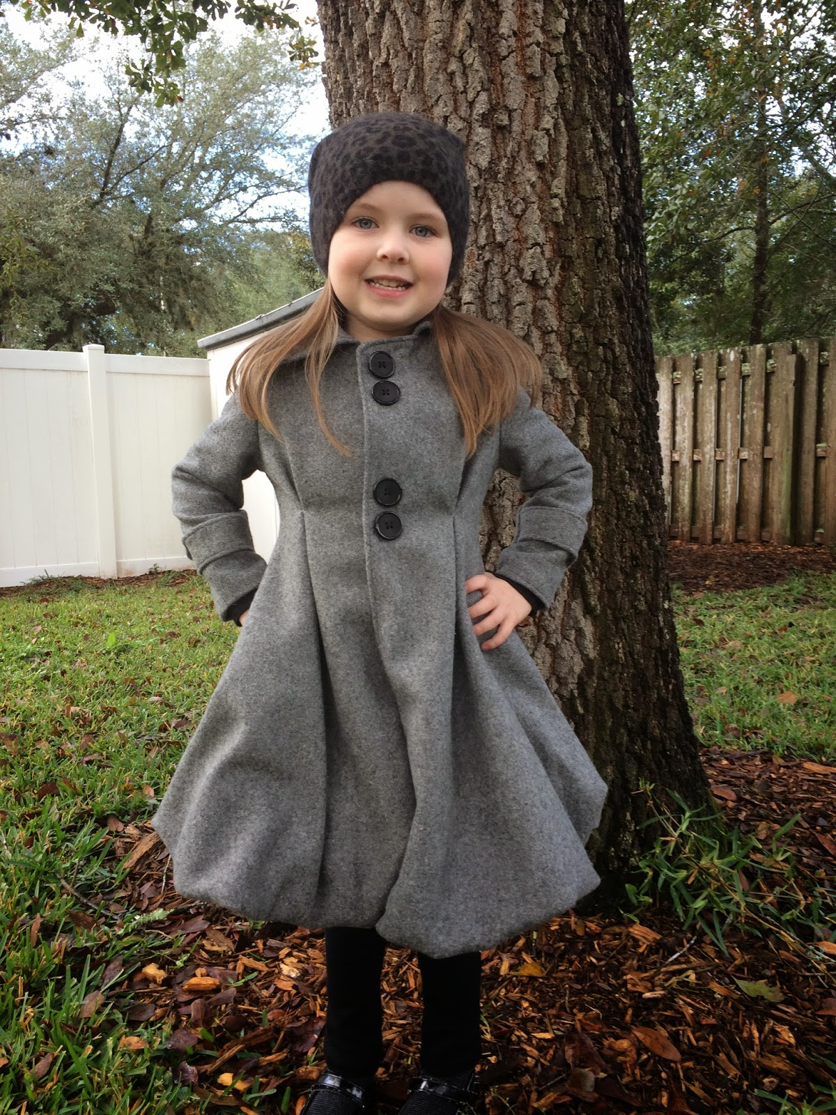 Bubble Pea Coat {flipped by: Cheeky D in Heels}