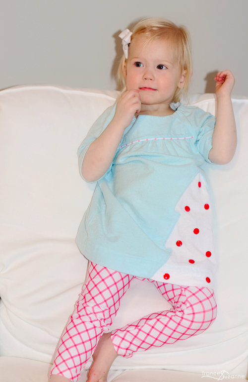 Oliver + S, Class Picnic Blouse and Playtime Leggings