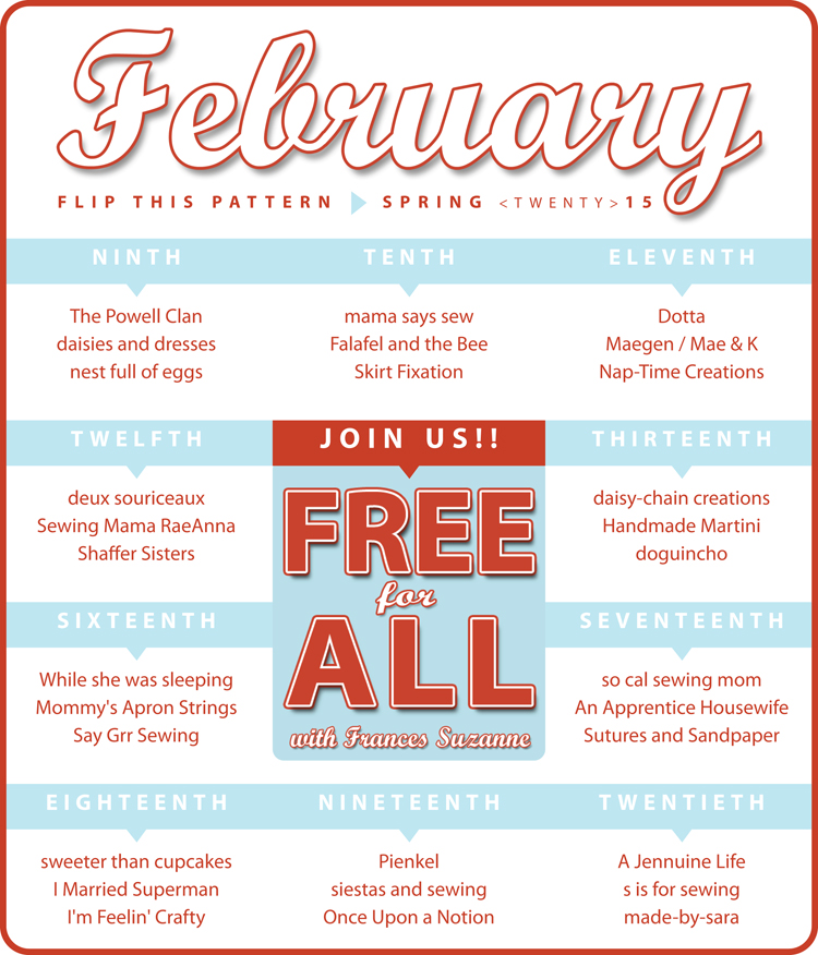 Flip this Pattern: February Free for All