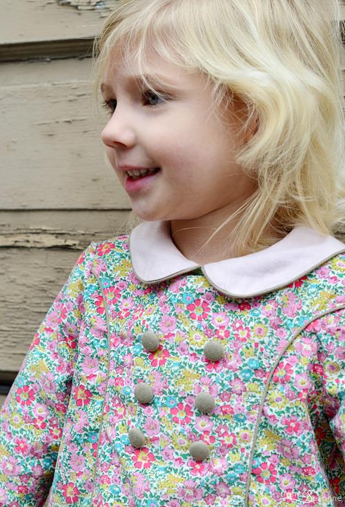 Princess Coat Dress {Collars, Etc.}