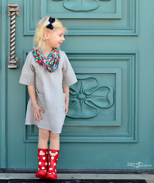Oliver + S: Carousel Dress with Tucks