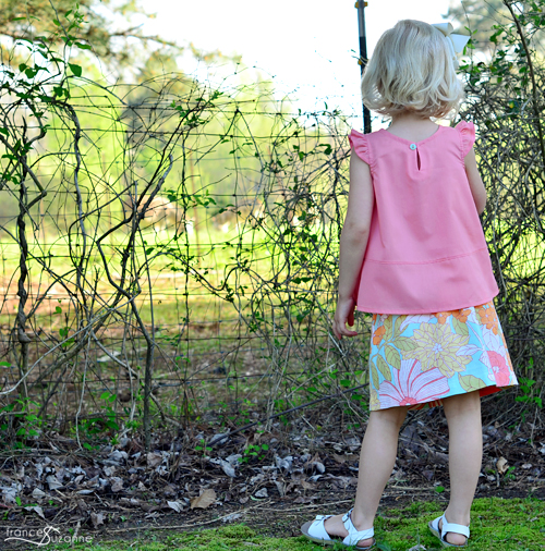 Oliver + S: Butterfly Blouse and Skirt
