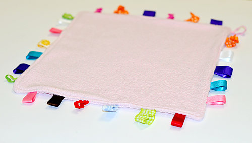 Sewing with Children: The Taggie Blanket