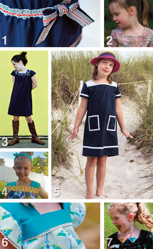 Flip this Pattern: Oliver + S, Croquet Dress