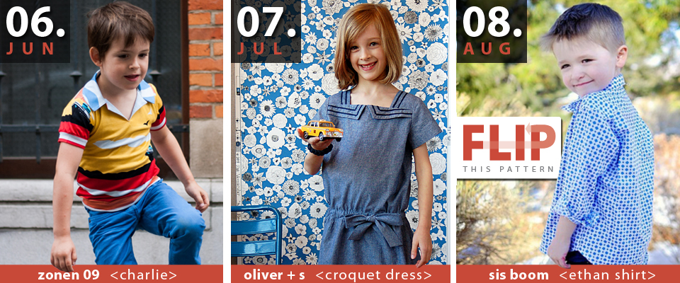 Flip this Pattern: Summer 2014