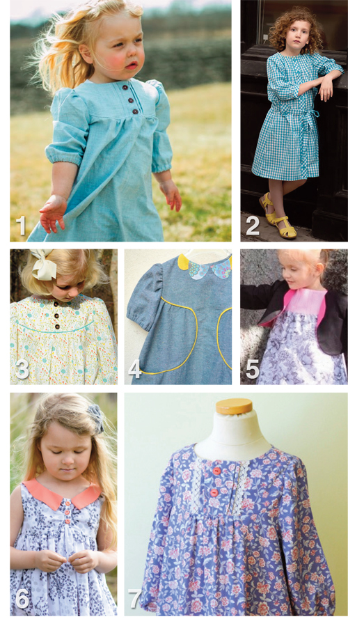 Flip this Pattern: Brooklyn Pattern Co., Franklin Dress