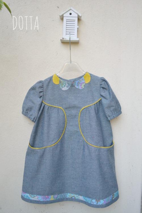 Franklin Dress {sewn by: Dotta}