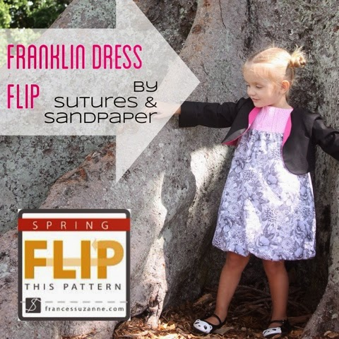Franklin Dress {sewn by: Sutures and Sandpaper}
