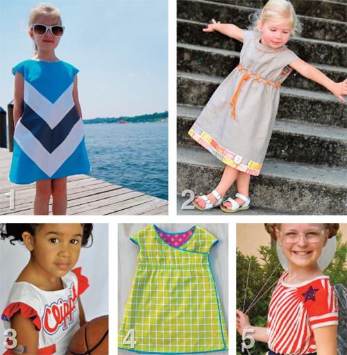 Flip this Pattern: Oliver + S, Roller Skate Dress