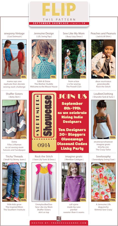 Flip this Pattern: September Showcase