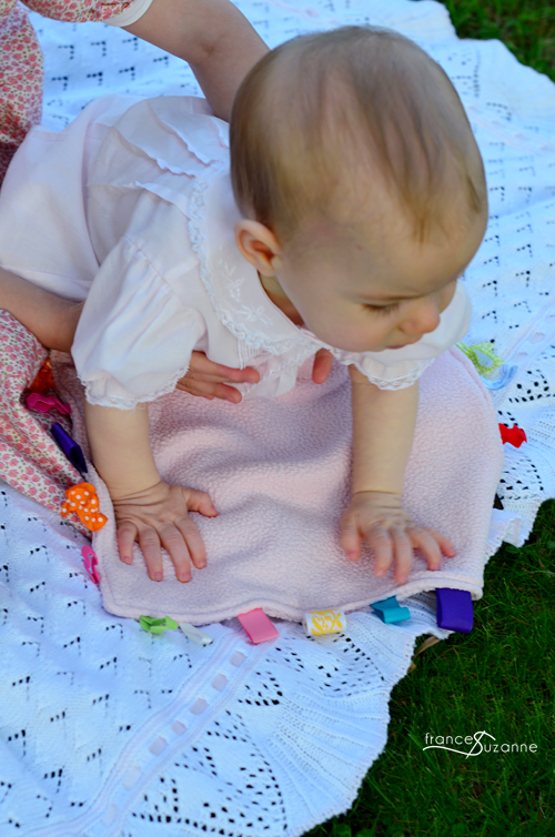 Sewing Lessons for Children: THE TAGGIE BLANKET