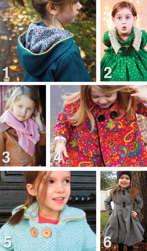 Flip this Pattern: Dear My Kids, Trendy Unisex Pea Coat