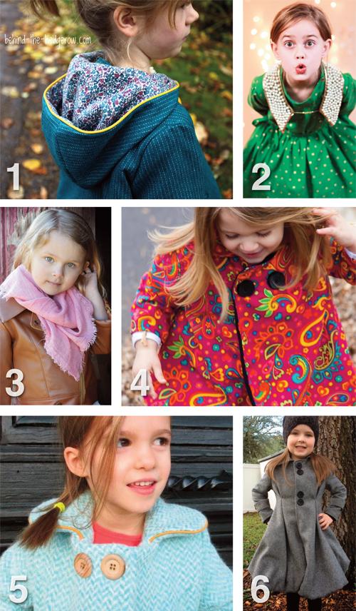 Flip this Pattern: Dear My Kids, Trendy Unisex Pea Coat