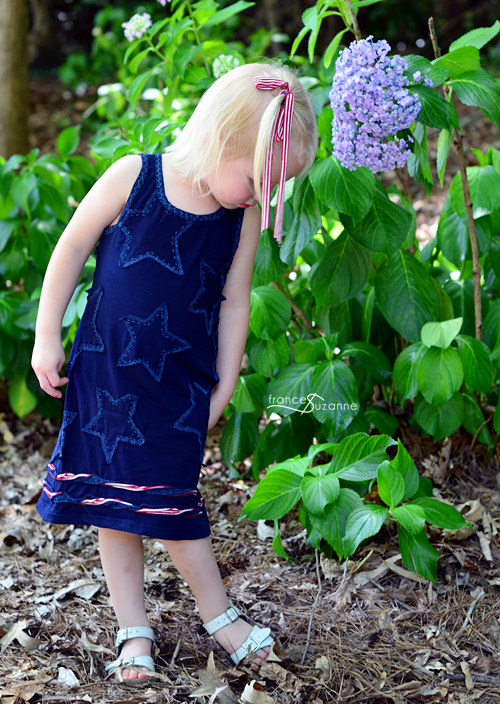 Alabama Chanin for Children {30 Days of Sundresses}