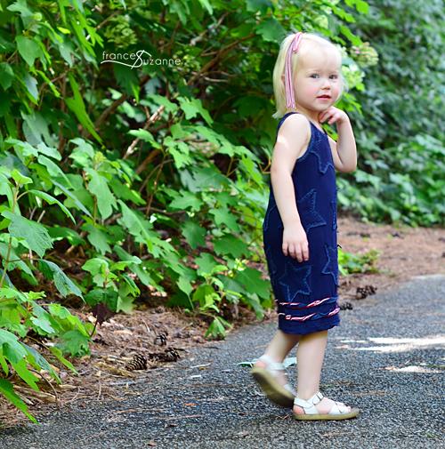 Alabama Chanin for Children {30 Days of Sundresses}
