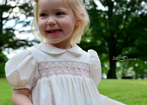 Australian Smocking & Embroidery: Smocked Dress