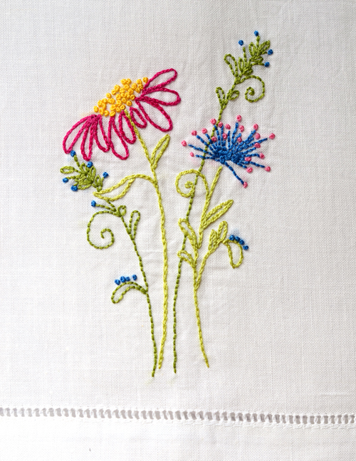 Frances Suzanne: Basic Embroidery Stitches