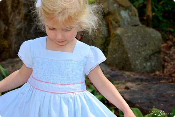 Oliver + S, Garden Party Dress {with smocking}