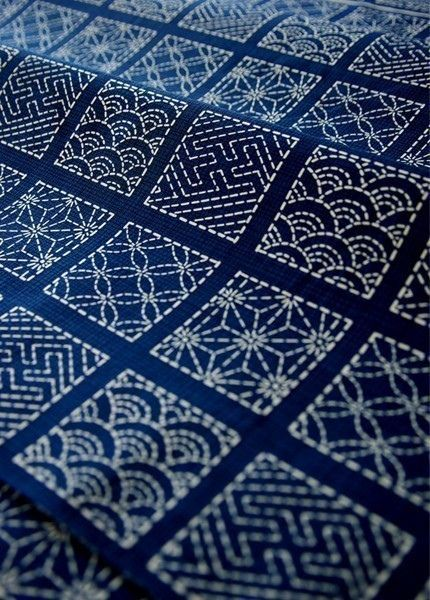 Embroidery Inspiration: Sashiko