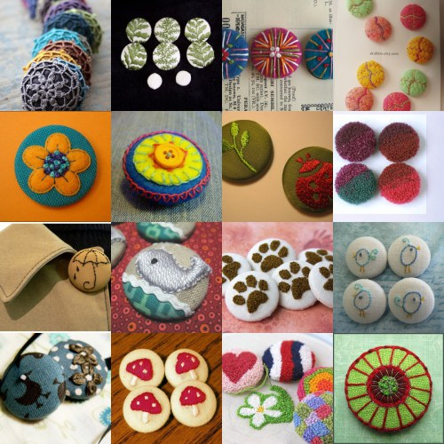 Embroidery Inspiration: Buttons
