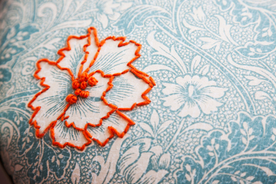 Embroidery Inspiration: Focal Point