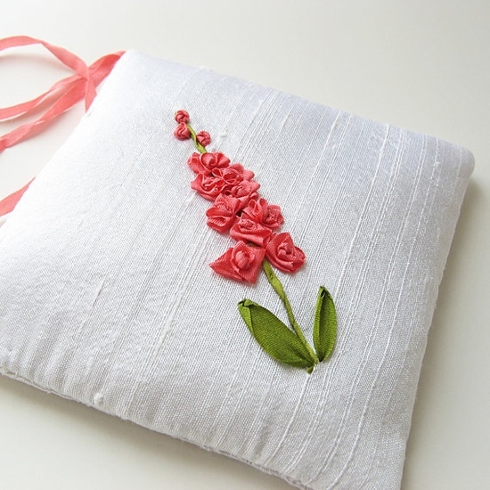 Hand Embroidery: Ribbon Embroidery