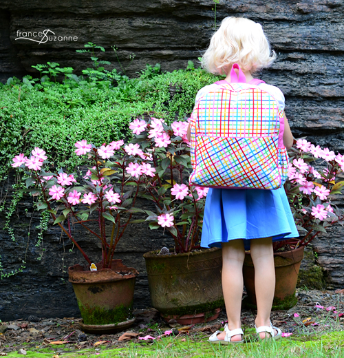 Made by Rae: Toddler Backpack