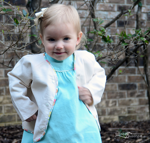 Oliver + S, Lullaby Layette Jacket