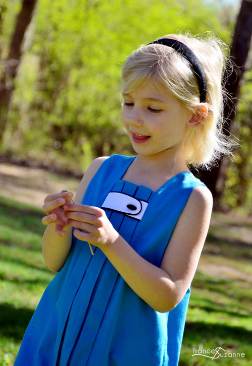 Sewing for Disney: Alice {Oliver and S, Birthday Party Dress}