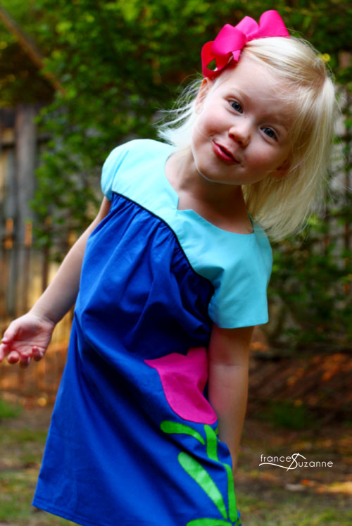 Sewing for Disney: Anna {Oliver + S, Ice Cream Dress}