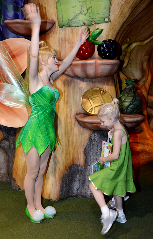 Sewing for Disney: Tinkerbell {O+S, Pinwheel Slip Dress}