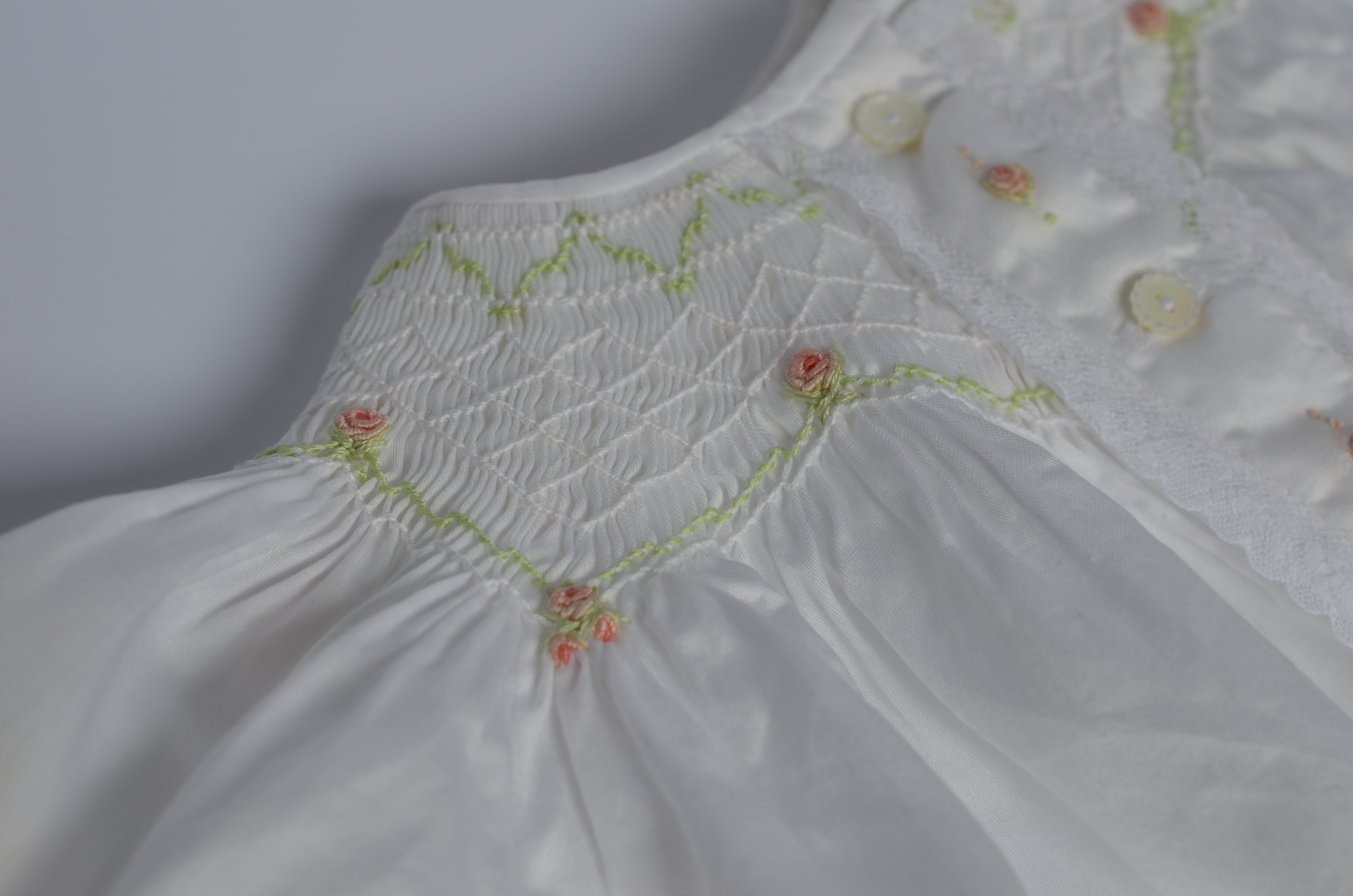 Hand Embroidery: Smocking