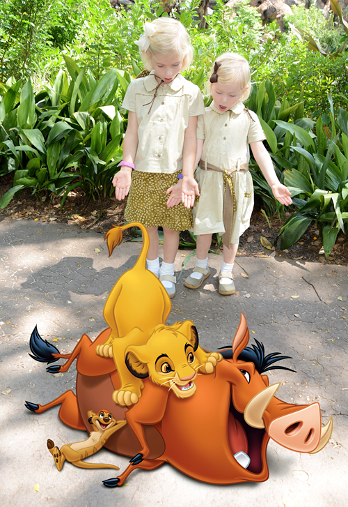 Sewing for Disney: Animal Kingdom, Safari {O+S, Music Class and Jump Rope}