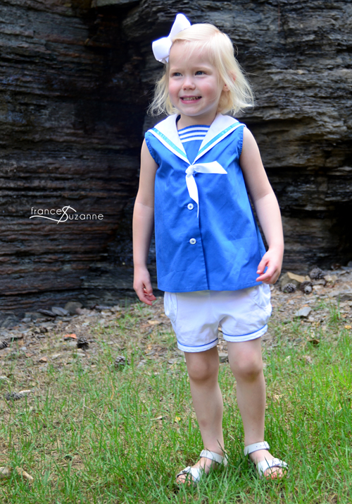 Sewing for Disney: Donald Duck {Simplicity 5853 and Oliver + S, Puppet Show Shorts}