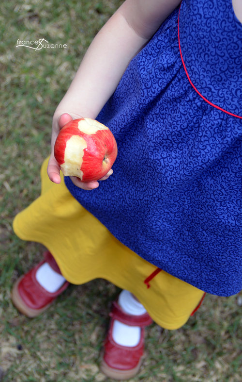 Sewing for Disney: Snow White {Oliver + S, Swingset Tunic and Skirt}