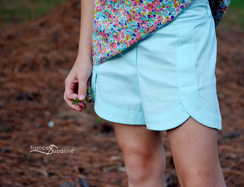 Oliver + S, Swingset Tunic and Class Picnic Shorts