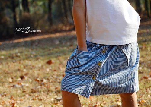 Oliver + S, Hopscotch Skirt