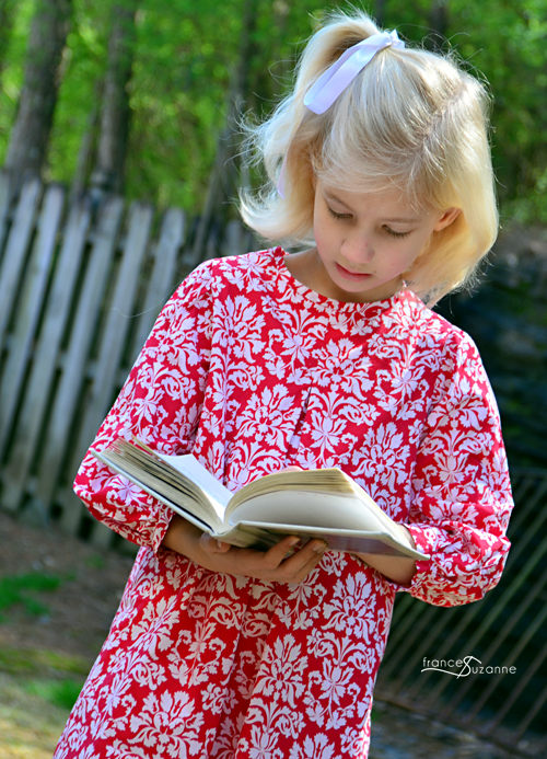 Children's Corner, Lillian {modified: unlined, pleated, and with sleeves}