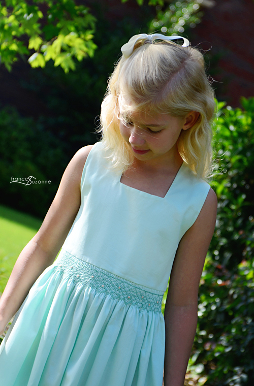 Summer Dreams Sundress {Australian Smocking and Embroidery, Issue No. 61}