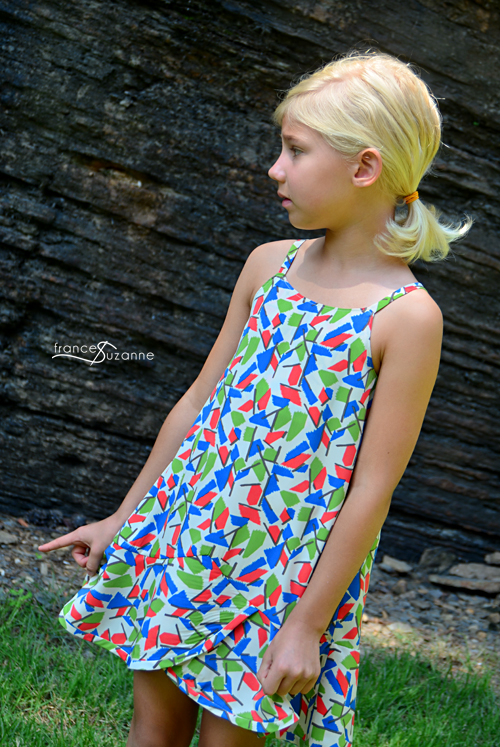 Oliver + S, Pinwheel Slip Dress
