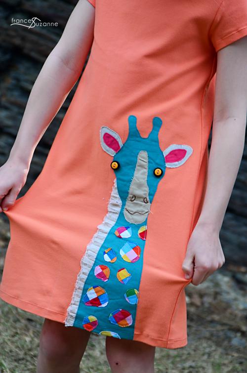 Sewing for Disney: Giraffe {Children's Corner, Nora}